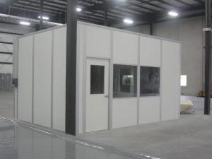 small isolation quarantine room